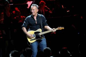 The DWI charge fell against Bruce Springsteen