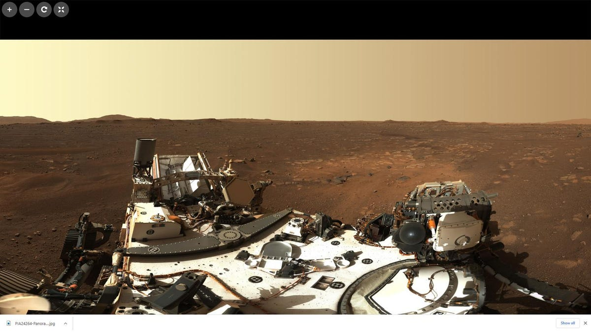 Check out this amazing HD panorama of Mars from NASA's Rover for perseverance