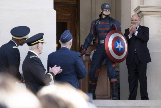 Wyatt Russell about being America's new captain and working with Marvel