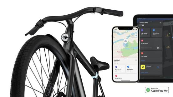 Now you can find your bike with Apple's Find Me feature