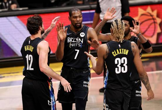 Kevin Durant, Kyrie Irving and Zion Williamson finally took the floor together – just not with the New York Knicks