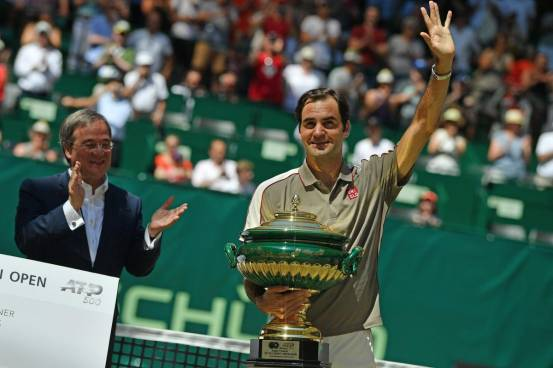 Roger Federer is committed to playing Halle in 2022, when he will be 40 years old