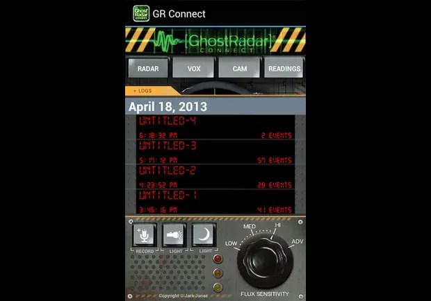 Ghost Radar App