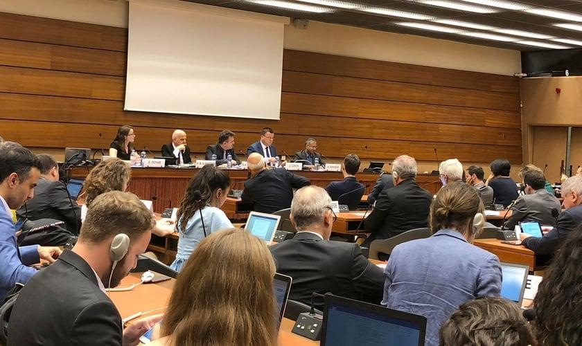 Evento sobre perseguição religiosa na 41ª sessão do Conselho de Direitos Humanos da ONU em Genebra. (Foto: ADF International)