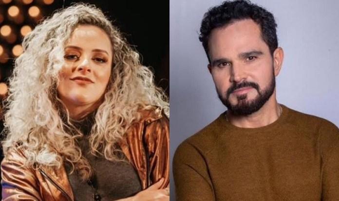 """Gabi Sampaio e Luciano Camargo gravam nesta sexta-feira, o clipe do single """"Espírito Santo"""", que integra o novo álbum gospel do cantor sertanejo. (Imagem: Divulgação)"""