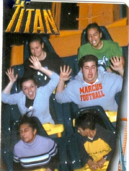 People From Roller Coasters ThumbPress 34 Winners and Losers from Roller Coasters (62 Pics)