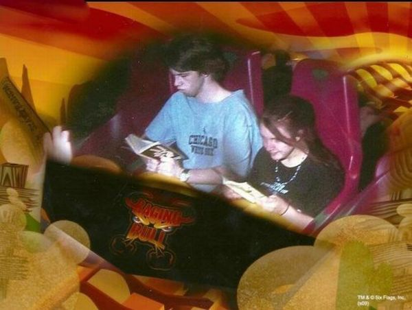People From Roller Coasters ThumbPress 35 Winners and Losers from Roller Coasters (62 Pics)