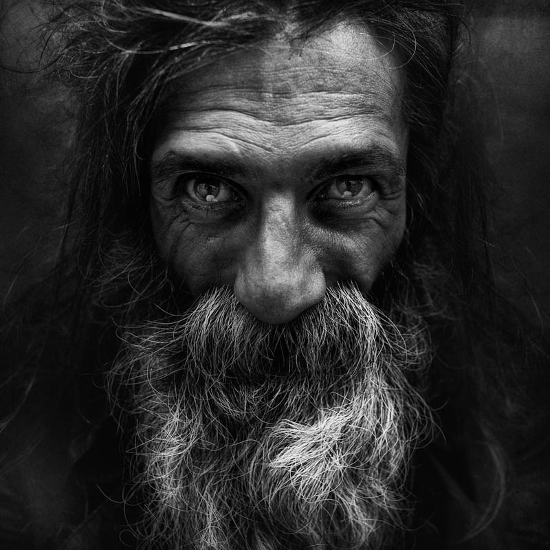 homeless black and white portraits lee jeffries 40 25 Incredibly Detailed Black And White Portraits of the Homeless by Lee Jeffries