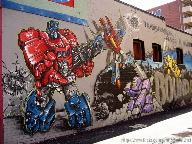 Geeky Graffiti 05 630x472 50 Geeky Street Art Pieces Brimming With Awesomeness