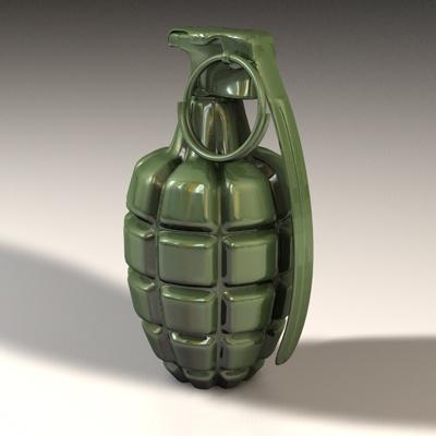 hand grenade 5 Weird Things Found in Storage Units