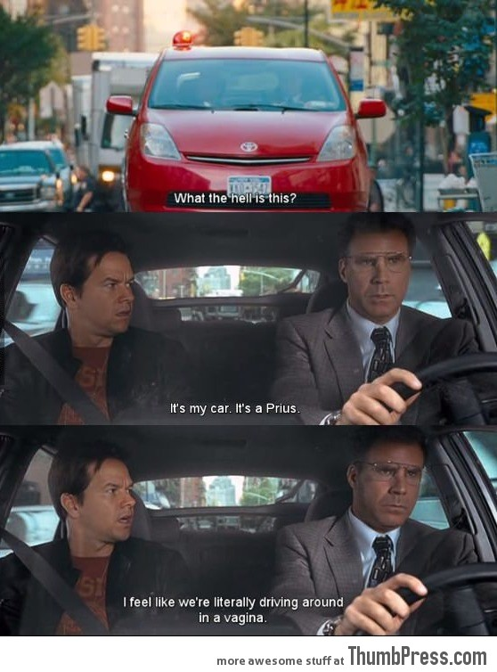 Seriously What is wrong when driving a Prius