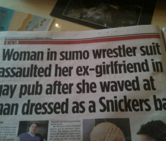 The Funniest News Headlines Of All Time