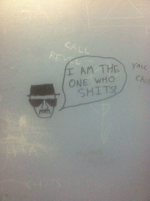 Most Funniest Things Written in Bathroom Stalls 24 Pics