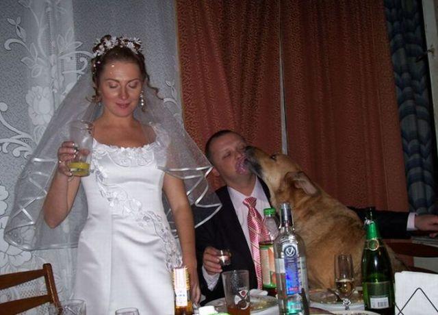 Hilariously Embarrassing Wedding Moments24 Pics