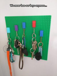 Simple Lego Key Holder