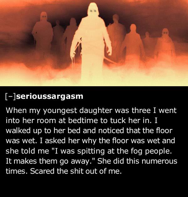 25 creepy things kids