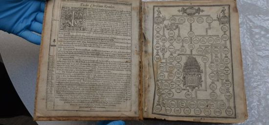 Stolen 17th-Century Bible Recovered
