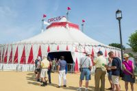 Step Right Up to the Big Top Circus Tent at the 50th