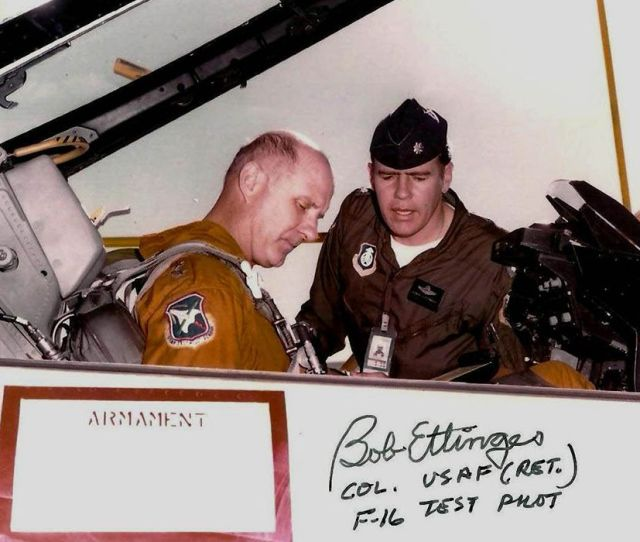 Test Pilot Bob Ettinger Seated Investigated The Hair Raising First Takeoff Incident Northrop Corp