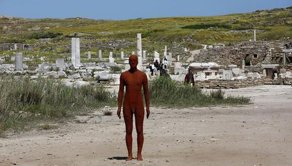 The Ancient Greek Island of Delos Gets Its First Contemporary Art Installation