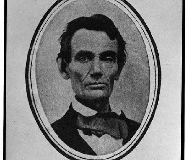 An Image Of Abraham Lincoln Taken In  T Painter Pearson Library Of Congress