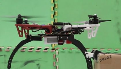 These Drones Can Perch and Dangle Like Birds and Bats
