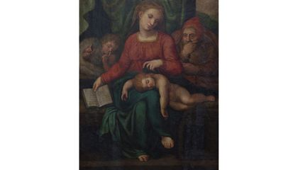 Possible Michelangelo Painting Disappears From a Belgian Church Days Before Authentication