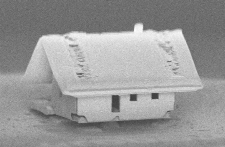 Scientists Built The World S Smallest House Smart News Smithsonian Magazine