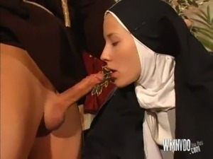 nuns taking cum facials
