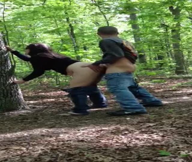 Porn Pic Big Ladys Painful Fucking In The Woods Park