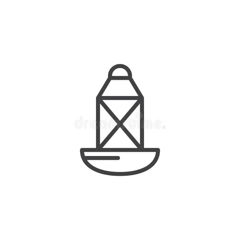 Boia no mar ilustração stock. Ilustração de flutuar