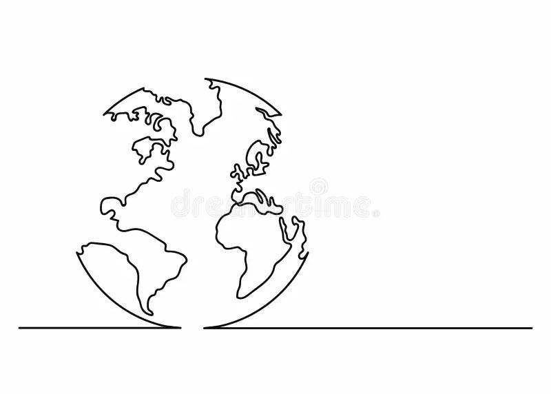 Crescimento Contínuo Do Mundo Ilustração do Vetor