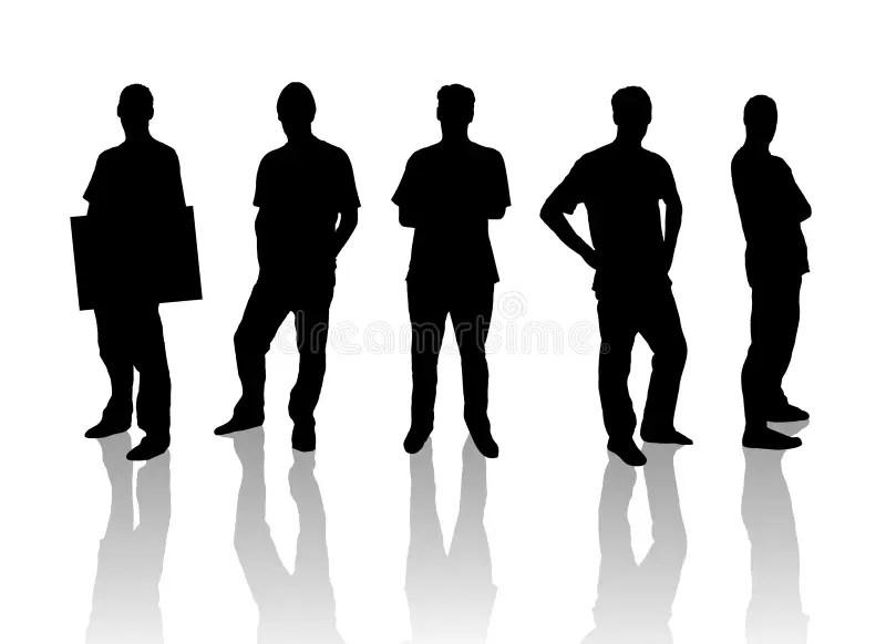 商人剪影 向量例證. 插畫 包括有 女實業家, 女性, 繁忙, 財務, 辦公室, 收集, 例證, 貨幣, 公司 - 8156851