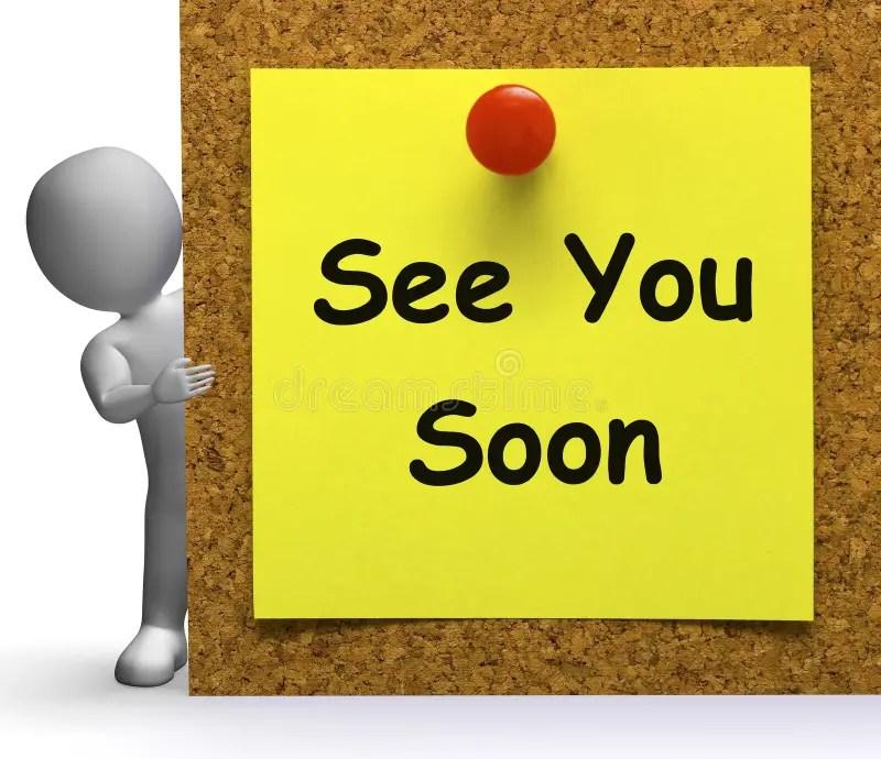 再見很快意味再見或告別 庫存例證. 插畫 包括有 再見很快意味再見或告別 - 38121406