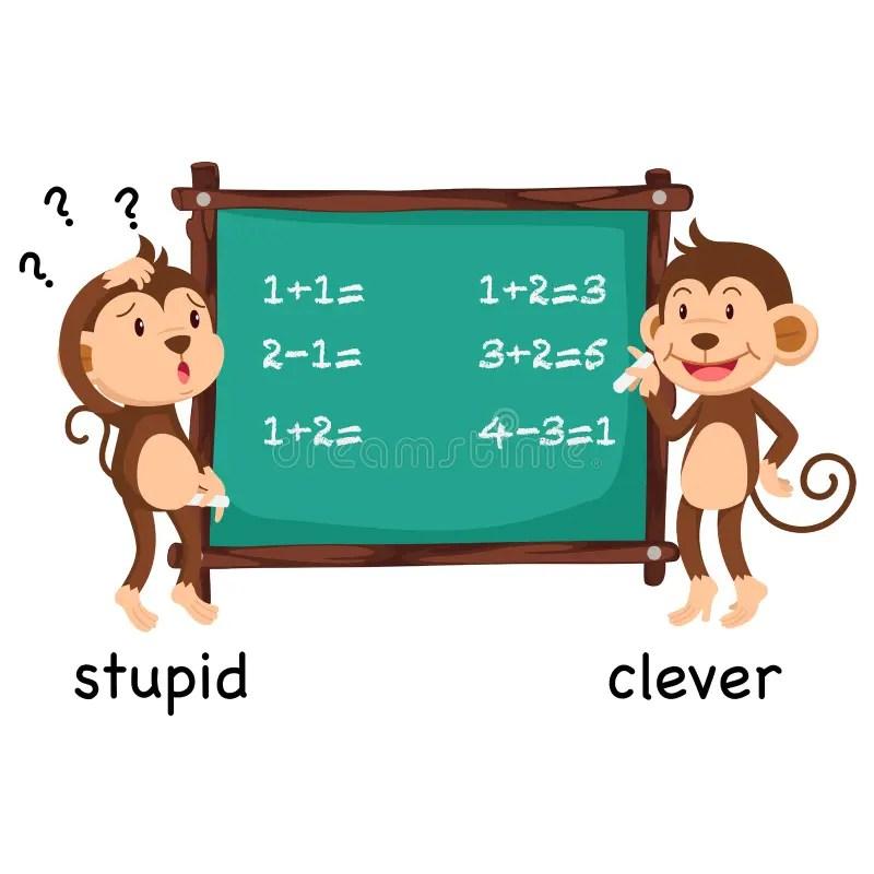 聰明對愚笨的詞標度很好的路線幽默口味 庫存例證. 插畫 包括有 聰明對愚笨的詞標度很好的路線幽默口味 ...