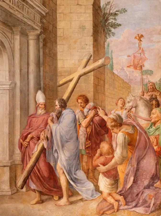 羅馬,意大利- 2016年3月10日:圣潔家庭繪畫在教會大教堂二由未知的藝術家的圣瑪麗亞Ausiliatrice的 庫存照片 ...