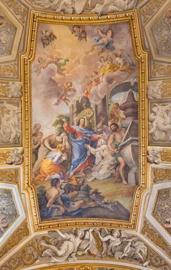 羅馬,意大利- 2016年3月9日:教會大教堂二的圣塔Maria Del Popolo Mellini教堂與組塑阿戈斯蒂諾Masuc 庫存照片 - 圖片 ...