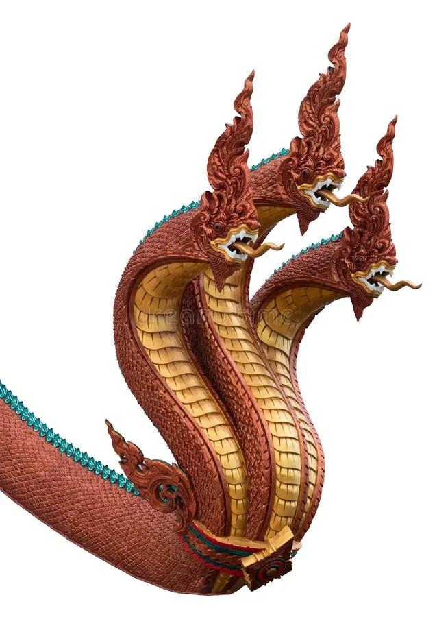 蛇納卡人雕象的國王或國王在w隔絕的泰國寺廟的 庫存圖片. 圖片 包括有 工藝, 遺產, 符號, 紅色, 五顏六色 ...