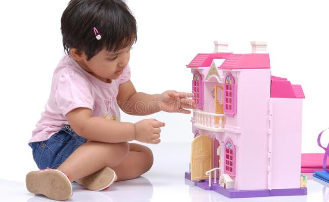 2 3 Years Old Baby Girl Stock Image Image Of Play Active