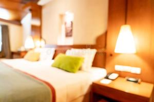 bedroom abstract blur interior