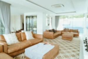 living blur defocused abstract interior blurred board