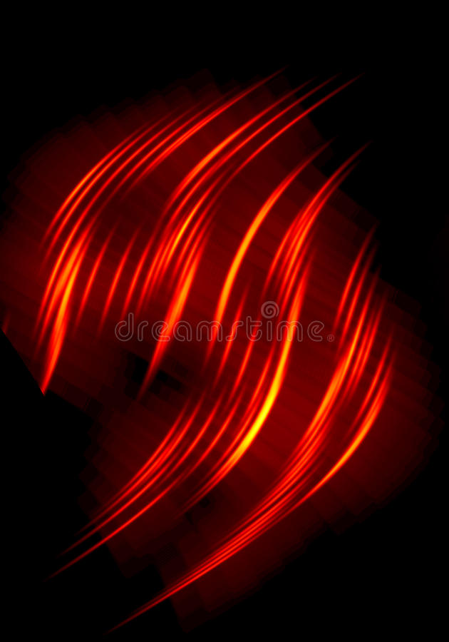 abstract flames stock illustrations