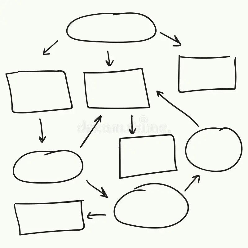 Abstract Flowchart Vector Design Stock Vector