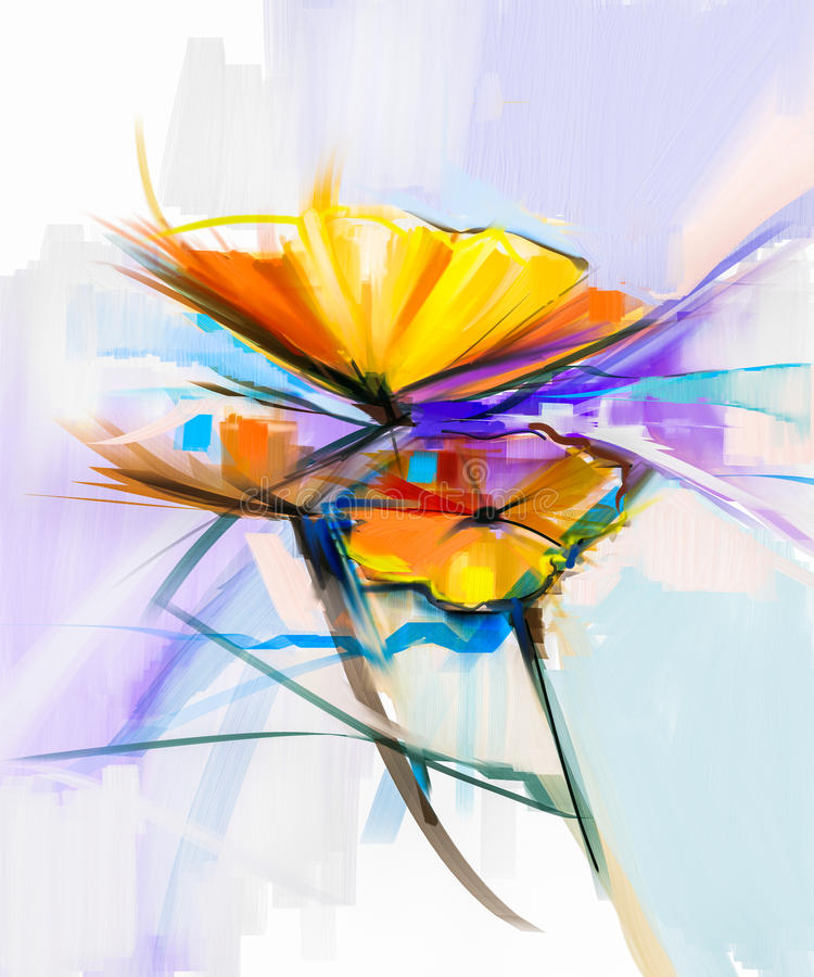 Colorful Life Abstract Still Paintings