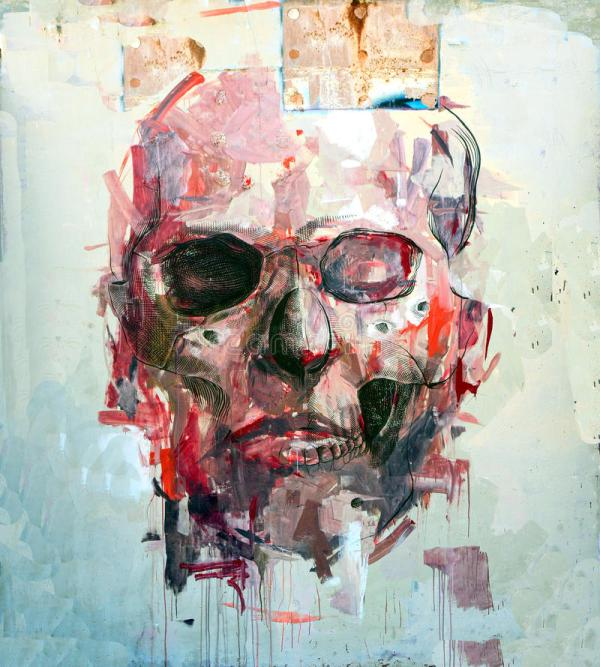Scary Abstract Art Paintings