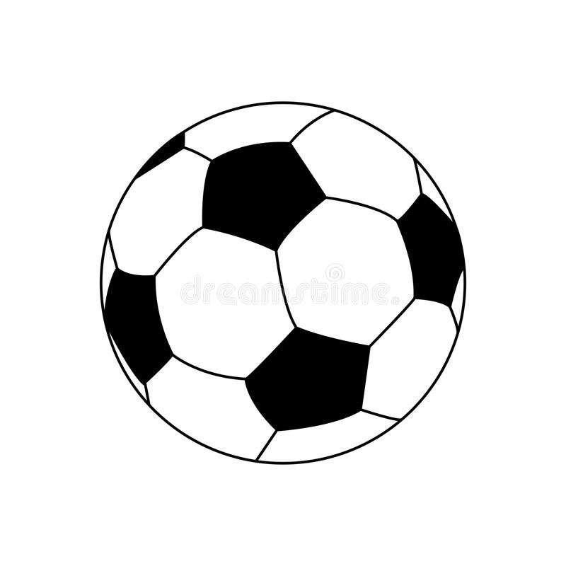 Pencil Soccer Poster Background 2 Stock Vector