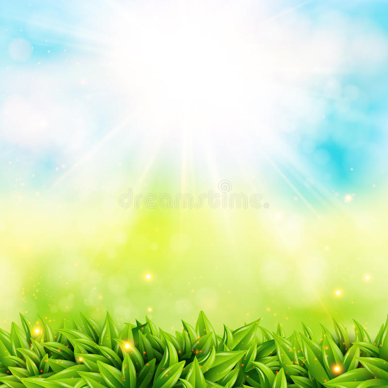 Iphone 6 Shelf Wallpaper Hd Abstract Spring Poster With Shining Sun And Blurred