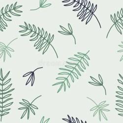 Doodle Floral Pattern Seamless Boho Background Beautiful Pastel Wallpaper Stock Vector Illustration of design pattern: 74414228