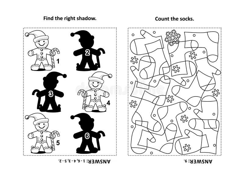 Sudoku For Children, Education Game. Cartoon Set Of Socks