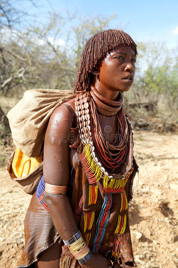 African Tribal Woman Editorial Image Image Of Ethiopian